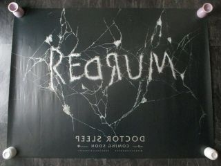 Doctor Sleep Uk Movie Poster Quad Double - Sided 2019 Cinema Poster Rare