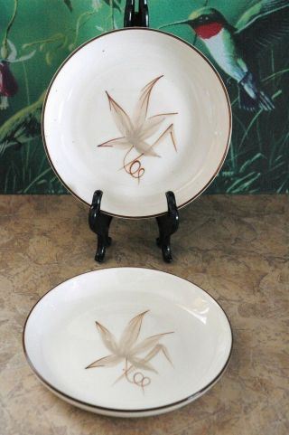 "Winfield Hand Crafted China - Passion Flower - 5 7/8 "" Bread & Butter Plates (2)"