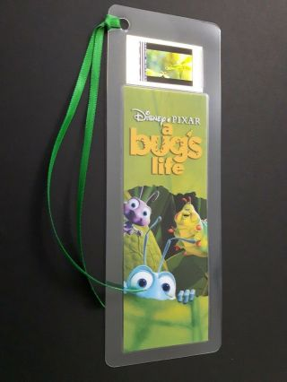 Bugs Life Movie Film Cell Bookmark - Complements Movie Dvd Poster