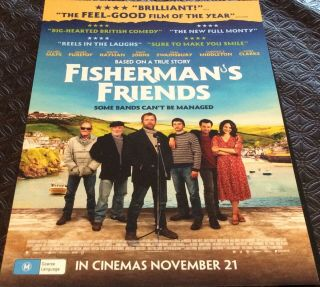 Flyer - Fisherman's Friends Daniel Mays,  James Purefoy,  Dave Johns Not A Dvd