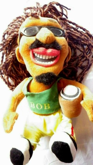 Bob Marley Reggae Doll Toy Craft Gift 28 Cm A Must Have Rare Item Found In Loft
