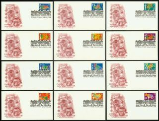 3895a - 3895l 37c Lunar Year,  Art Craft Fdc Any 4=free