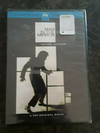 Michael Jackson Man In The Mirror Dvd Movie Never Opened