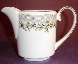 Vera Wang Holly Wreath Creamer Crafted In England By Wedgwood