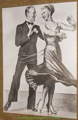 Fred Astaire & Ginger Rogers Movie Poster Commercial Print 26x37 Dancing 1930