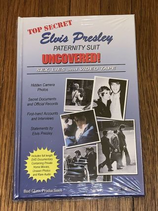 Elvis Paternity Suit Uncovered: Book / Dvd / Direct From Memphis