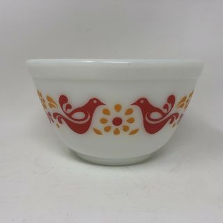 Vintage Pyrex Friendship Mixing Bowl Nesting Bowl 1.  5 Pint Number 401