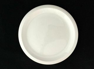 Set Of 8 Franciscan Sea Sculptures White Primary 10 1/2 Dinner Plates Ships
