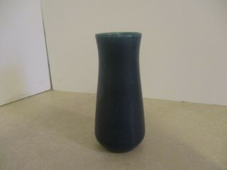 "Rookwood Pottery Arts & Crafts 1917 6 3/4 "" Vase,  1930,  Dark Blue Color"