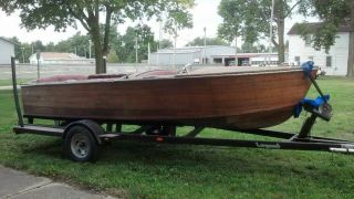 1956 Chris Craft