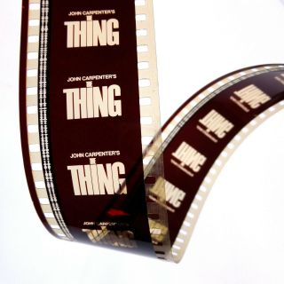 The Thing 1982 35mm Film Movie Trailer Sci - Fi / Horror