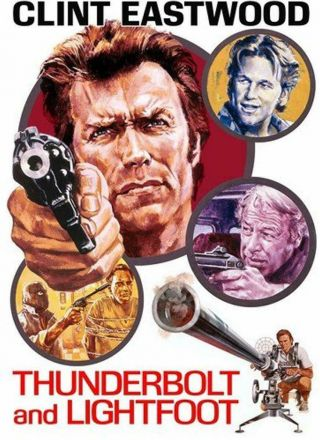 Thunderbolt And Lightfoot Dvd Action Adventure Widescreen Movie For Adults
