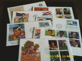 Us Fdcs Fleetwood S 2440 - 3402 (11 Covers),  Hf & Art Craft