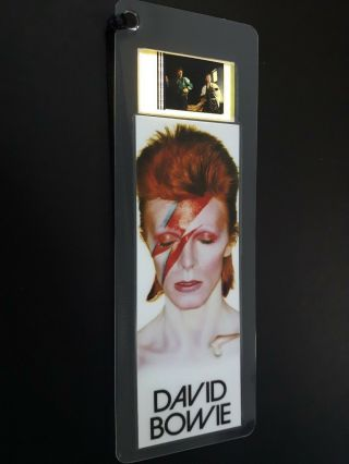 David Bowie Movie Film Cell Bookmark - Complements Movie Dvd Poster