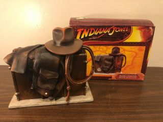Indiana Jones Hand Crafted Resin Dvd Case Limited Edition 2008 Blockbuster