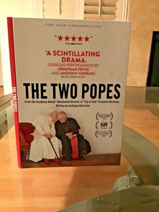 Dvd Movie The Two Popes Bryce Dessner