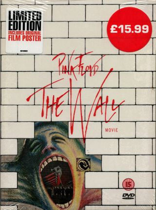 Pink Floyd The Wall Movie All Regions Dvd -