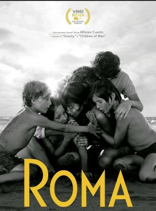 Netflix Roma Fyc Dvd Alfonso Cuaron Full Movie/best Movie Of The 2019/2018