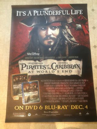 Huge 68x47 Pirates Of The Caribbean: At World