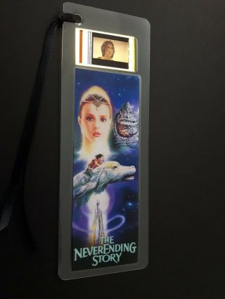 Neverending Story Movie Film Cell Bookmark - Complements Movie Dvd Poster