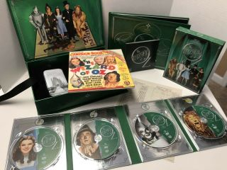 Wizard Of Oz 70th Anniversary Limited Edition Dvd Set W/watch & More