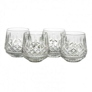 Waterford Lismore Old Fashioned Roly Poly Set Of 4 Tumblers 9 Oz 136673