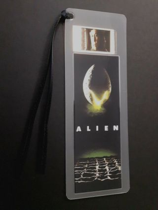 Alien Movie Film Cell Bookmark - Complements Movie Dvd Poster