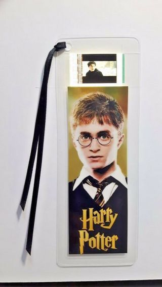 Harry Potter Harry Movie Film Cell Bookmark - Complements Movie Dvd Poster