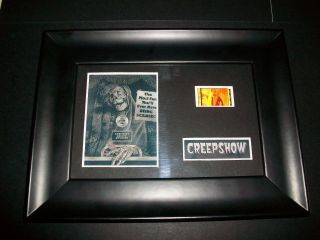 Creepshow Framed Movie Film Cell Memorabilia Compliments Poster Dvd Book