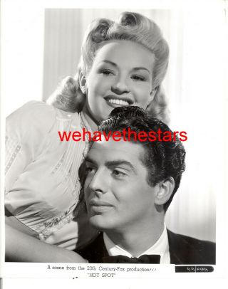 Vintage Betty Grable Victor Mature I Wake Up Screaming