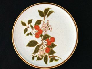 "Set Of 4 Mikasa Natural Beauty Treesweet C9052 10 5/8 "" Dinner Plates Ships"