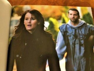 Silver Linings Playbook Oscar Fyc Book & 2 Dvds Making Of The Film Rare