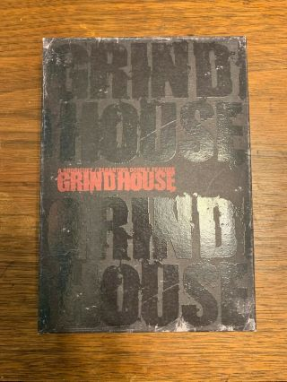 Grindhouse (6 Dvd Set) Planet Terror Death Proof Tarantino Rodriguez Japanese