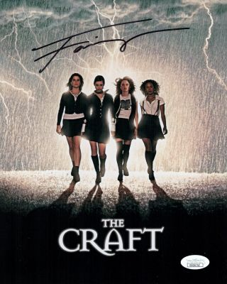 Fairuza Balk Signed The Craft 8x10 Photo Sexy Autograph The Waterboy Jsa