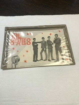 1964 Beatles 15x11 Brief Case Select - O - Pak By Hi - Craft Plate 16 Of My Book