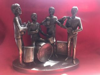 The Beatles,  Statuette,  Hand Crafted In Cold Cast Bronze.