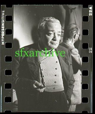 1954 Beat The Devil Peter Lorre Camera Photo Negative 3 By Famous Photographer