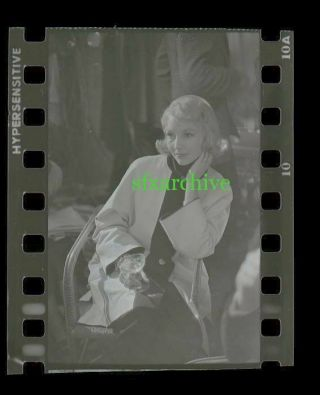 1954 Beat The Devil Jennifer Jones Photo Camera Negative 1 Famous Photographer