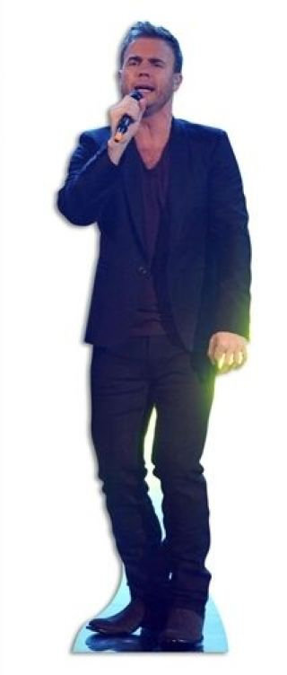 Gary Barlow Pop Singer Fun Cardboard Cutout Stand Up - Invite Him To Your Party