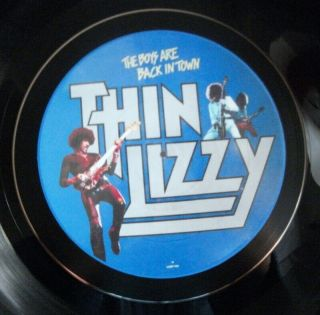 Thin Lizzy The Boys Are Back In Town Hand Crafted Vinyl Lp Bowl Ideal Gift.