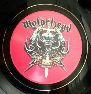 Motorhead Hand Crafted Vinyl Lp Retro Bowl Quality,  Ideal Gift More Listed