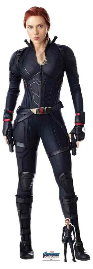 Black Widow From Marvel Avengers: Endgame Official Lifesize Cardboard Cutout