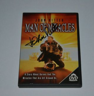 Man Of Miracles Dvd Signed John Ritter Deceased Actor Autographed