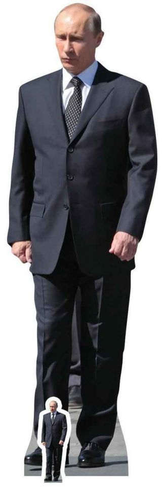 Vladimir Putin Russian President Lifesize And Mini Cardboard Cutout/ Standup