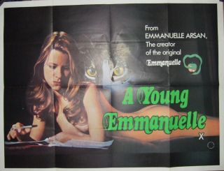 A Young Emmanuelle (1976) Movie Poster.