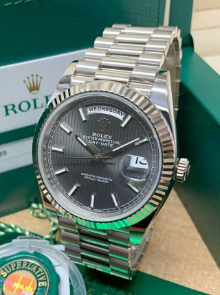 Rolex Day - Date 40 228239 White Gold Box And Paperwork 2018