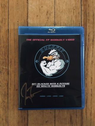 Duck - Fit Blu - Ray - Signed By Jason Trost