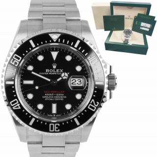2018 Papers Mark 2 Rolex Red Sea - Dweller 43mm 50th Anniversary 126600 Watch