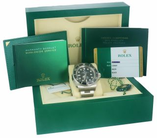 Sept 2019 Rolex Sea - Dweller Deepsea 126660 Stainless 44mm Black Dive Watch