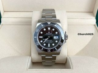 Rolex Submariner Date 116610ln Black Oct 2019 Full Set 5 - Yr Factory